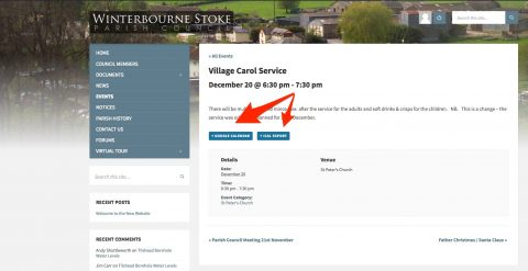 upcoming_events___village_carol_service___winterbourne_stoke_parish_council